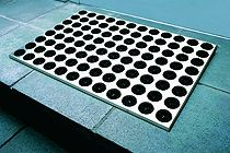 Fußmatte Feet-Back 1 Schwarz