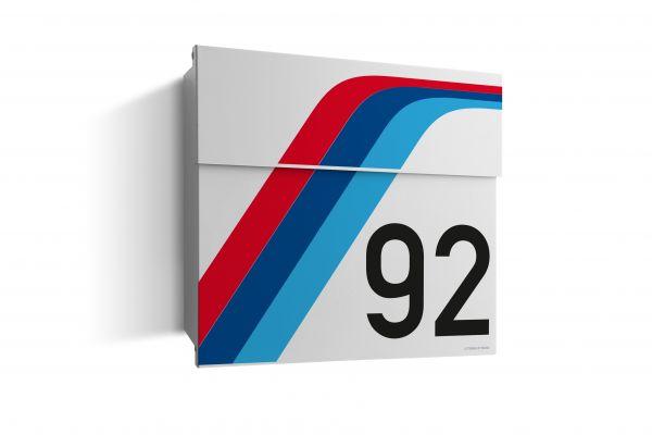 Briefkasten LETTERMAN HOCKENHEIM Racing Edition incl. LED Licht