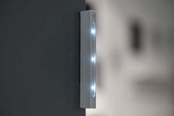 Briefkasten Letterman M Silber (RAL 7016) inkl. LED-Licht