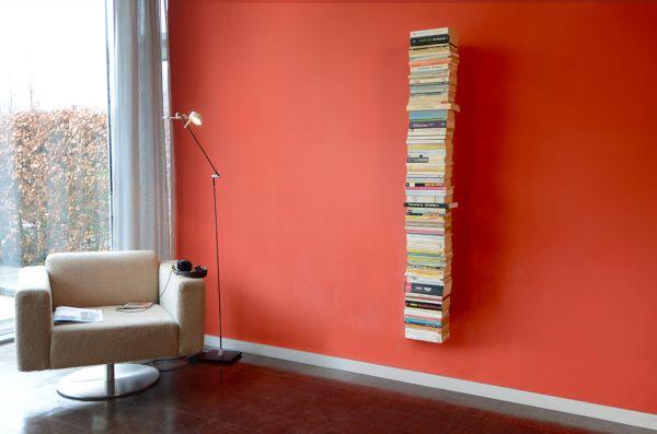 Bücherturm Booksbaum 2 Wand groß