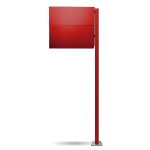 Standbriefkasten Letterman XXL 2 Rot