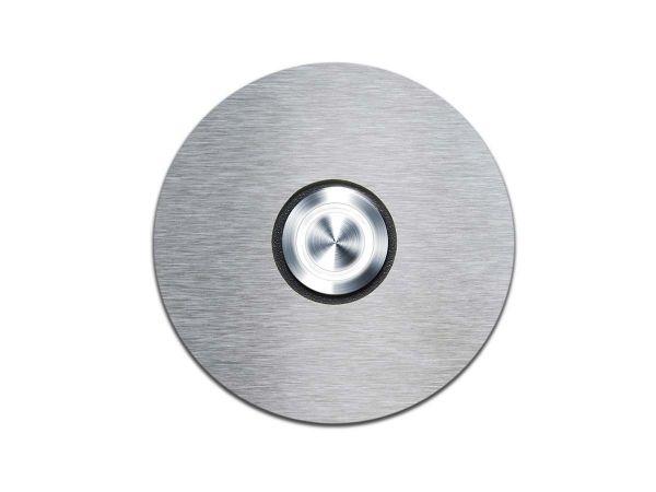 Klingelschalter mit LED-Leuchtring Weiß