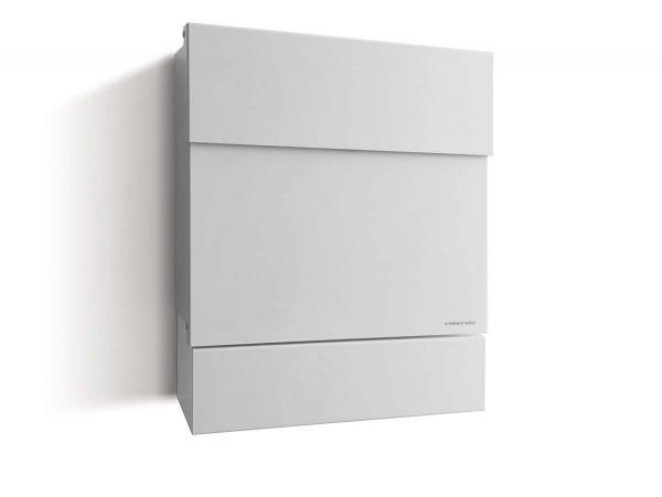 Briefkasten Letterman 5 Weiß inkl. LED-Licht und optionaler Gravur