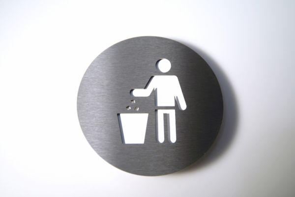 Piktogramm Trash